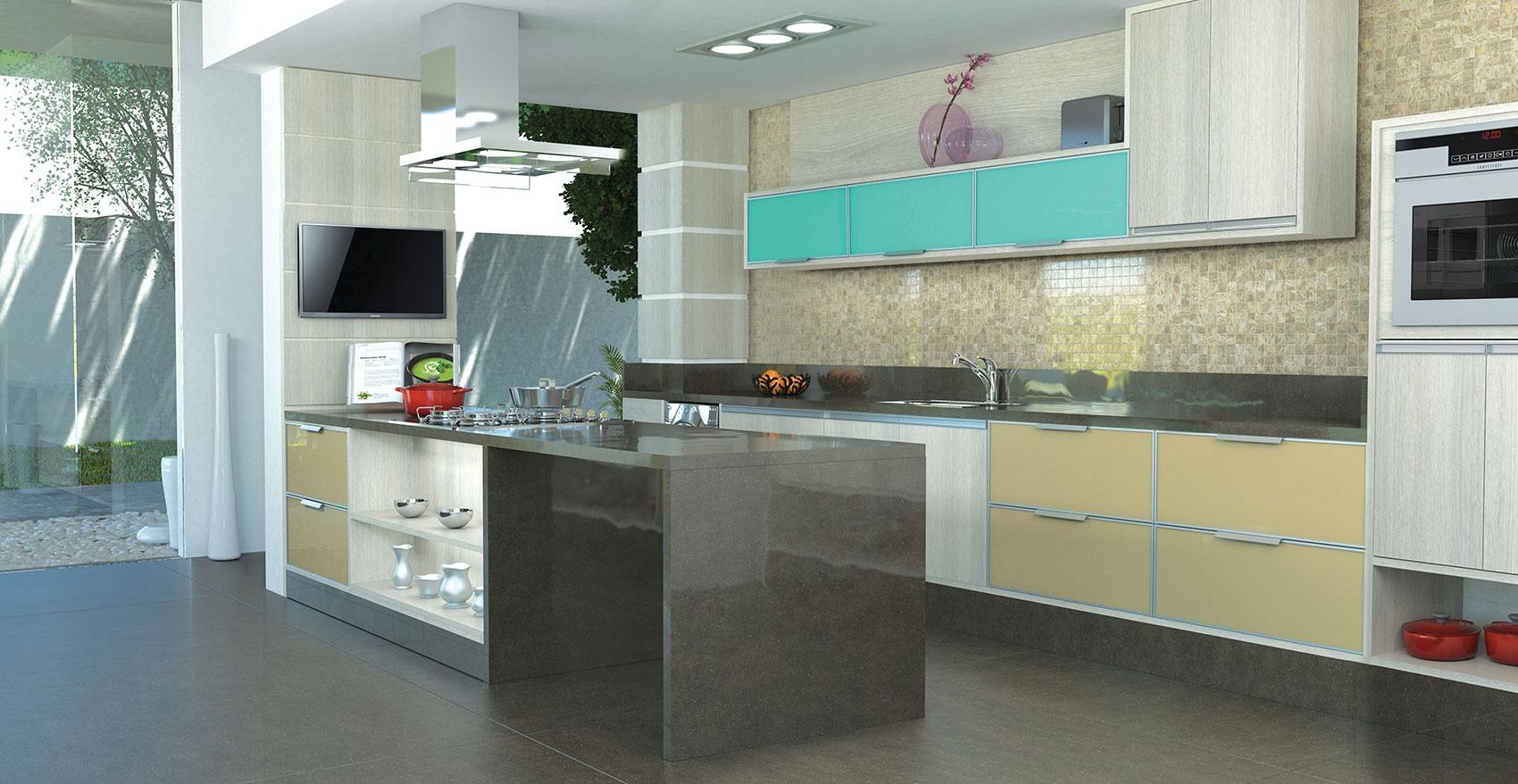 Cozinha Planejada para Casas em Cotia - Cozinha Planejada Americana