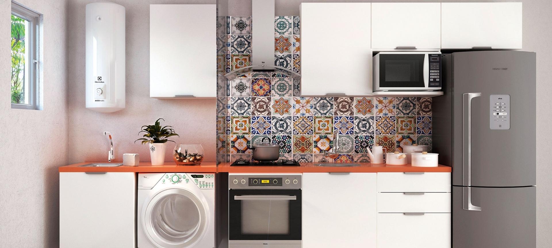 Cozinha Planejadas e área de Serviço na Vila Guilherme - Cozinha Planejada para Apartamento
