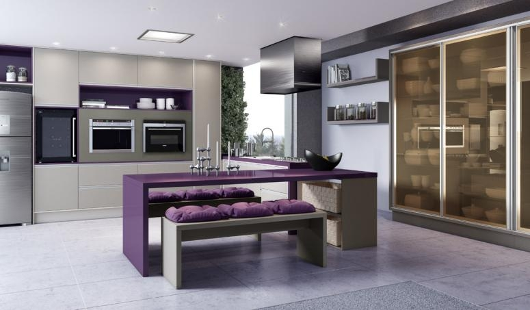 Cozinha sob Medida Preço na Água Azul - Cozinha Planejada para Apartamento