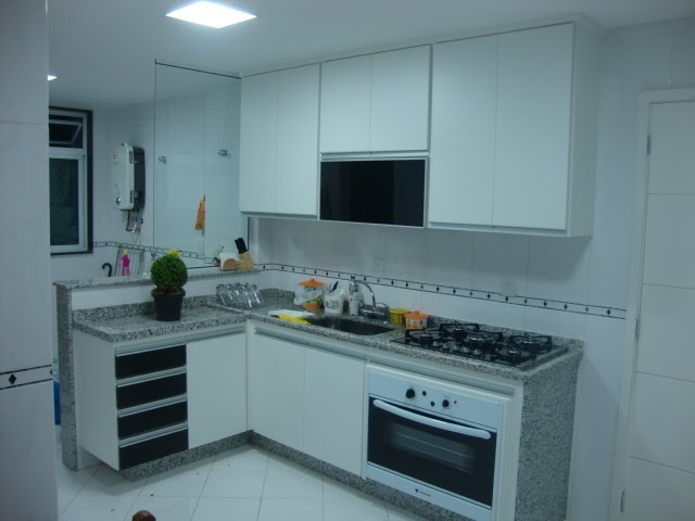 Cozinhas Planejadas para Apartamentos na São Roque - Cozinha Compacta Planejada