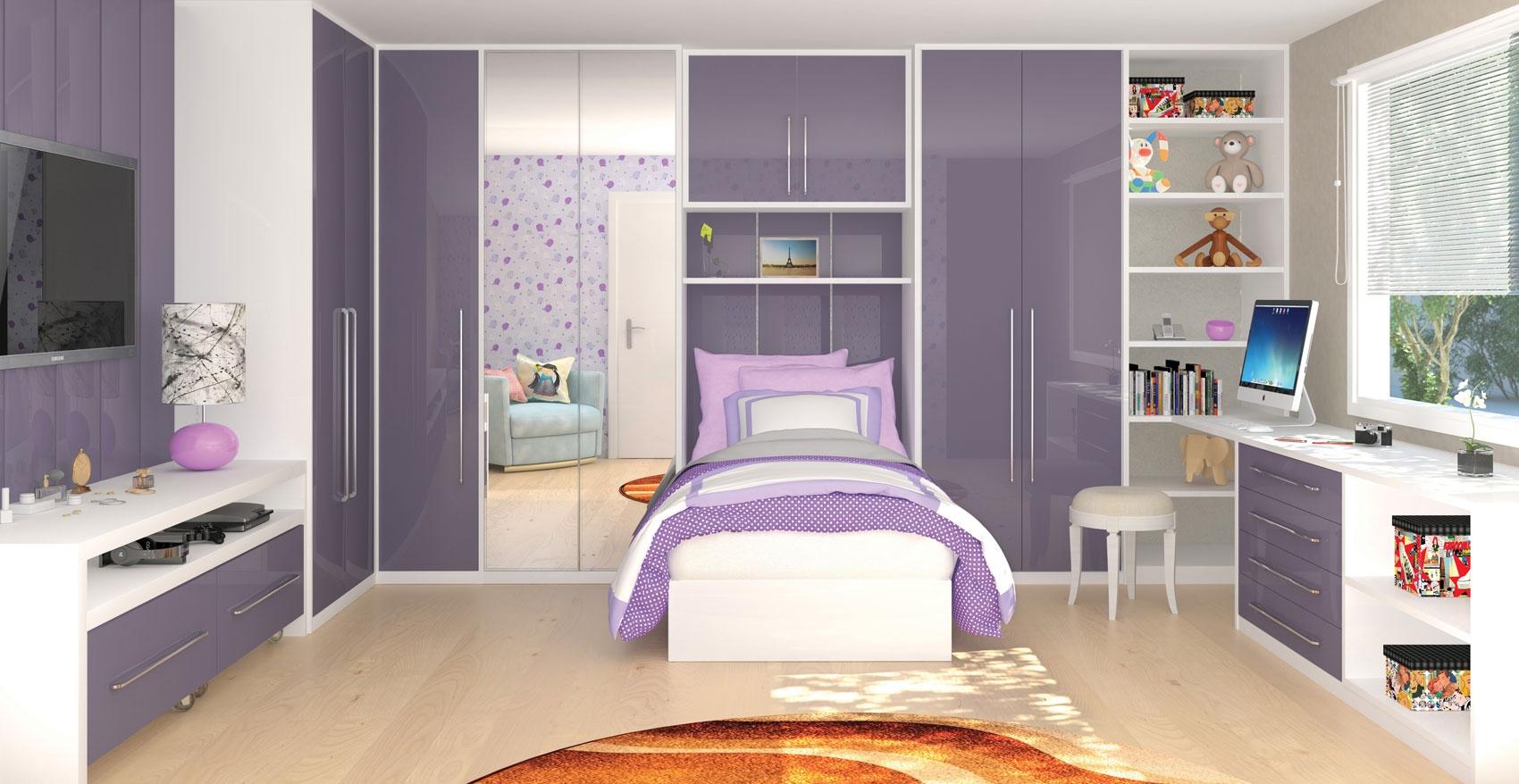 Dormitórios Planejados de Solteiro Preço na Cabuçu de Cima - Quartos Planejados