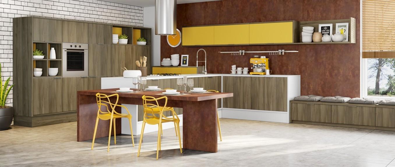 Fábrica de Cozinhas Planejadas Sp em Santana de Parnaíba - Cozinha Planejada para Apartamento