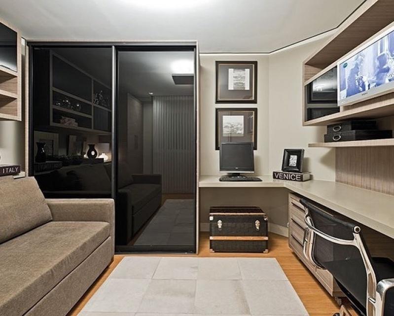 Móveis para Apartamento de 50 M2 no Pacaembu - Móveis para Apartamento Compacto
