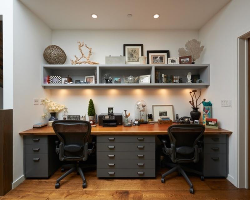 Móveis para Escritório em Apartamento no Jardim Helian - Móveis Articulados para Apartamento