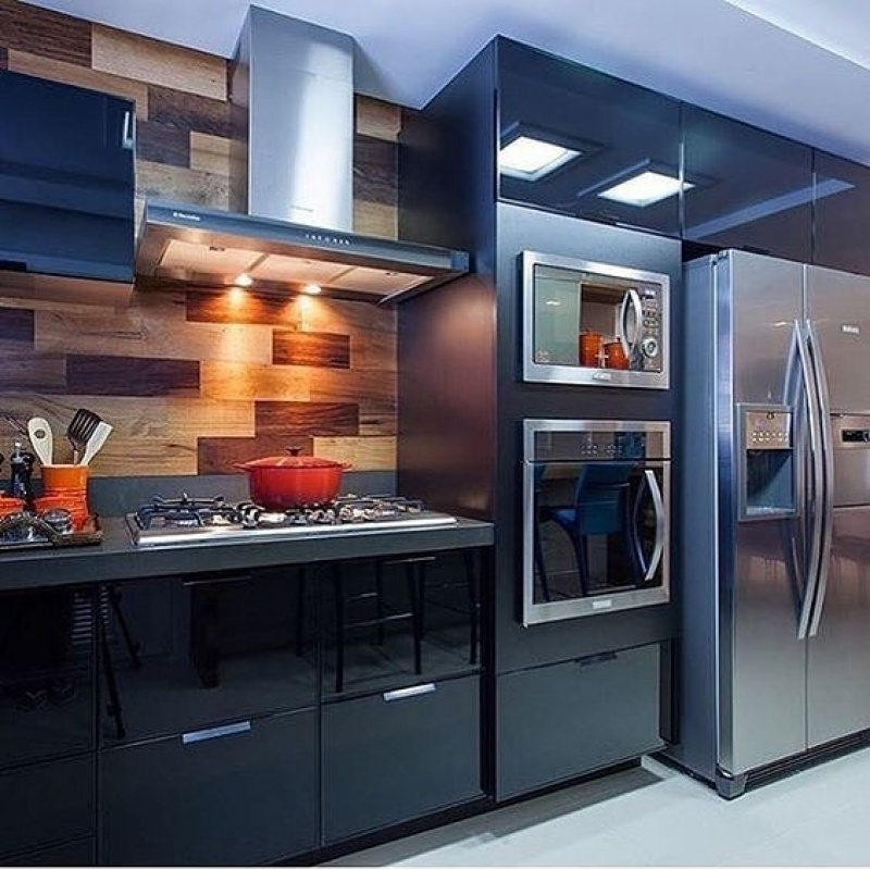 Móveis Planejados para Apartamentos Bem Pequenos na Santana - Móveis para área Gourmet de Apartamento