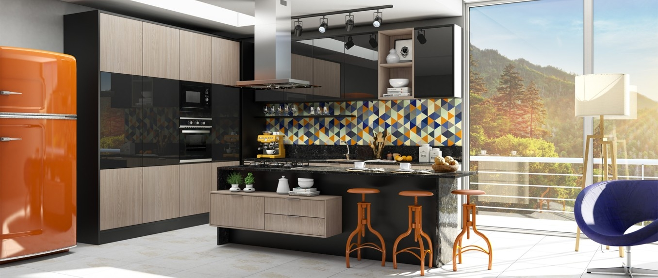 Móveis Planejados para Cozinha no Pimentas - Empresa de Móveis Planejados