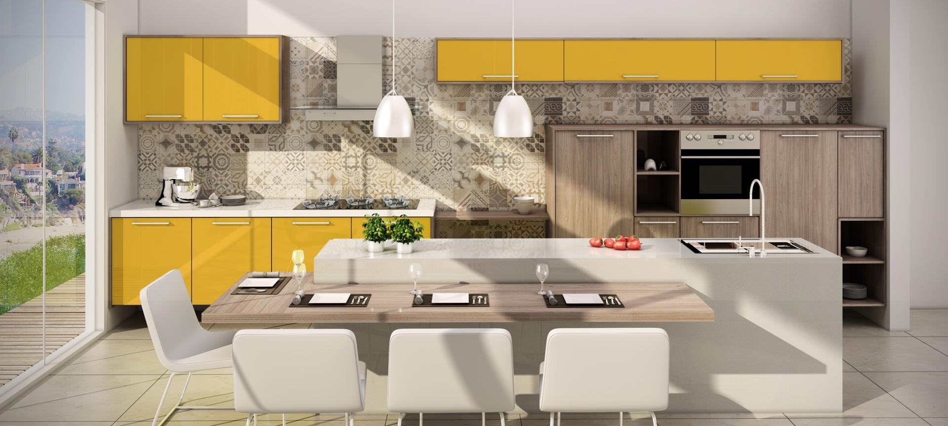 Móvel Modulado no Centro - Móveis Modulados para Cozinha