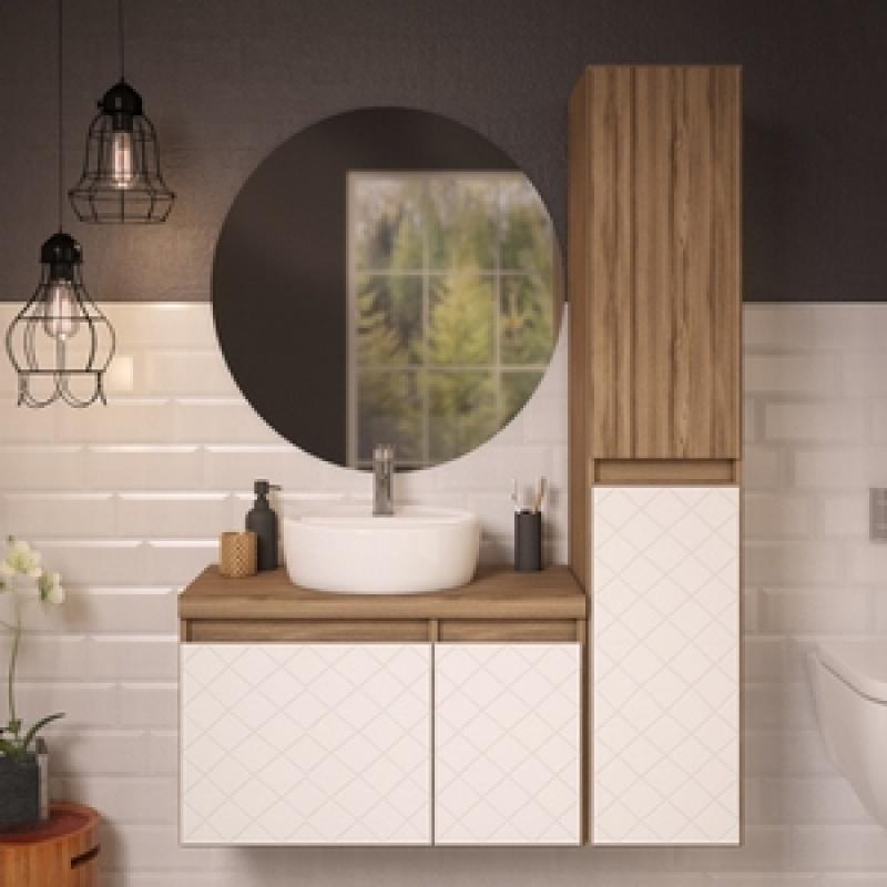 Móvel para Banheiro de Apartamento no Cabuçu - Móveis para Apartamento de 50 M2