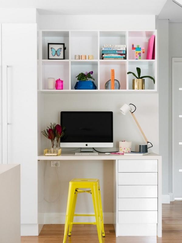 Móvel para Escritório em Apartamento na Vila Dalila - Móveis para Banheiro de Apartamento