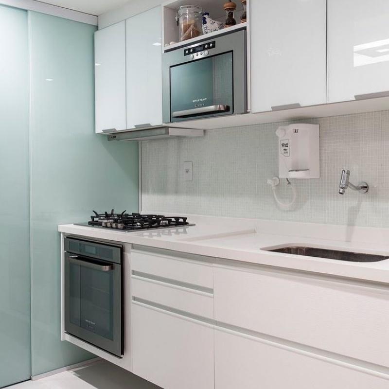 Orçamento de Móveis Planejados para Cozinha de Apartamento no Rio Grande da Serra - Móveis para Apartamento de Solteiro