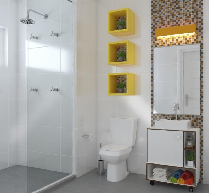 Preço Quanto Custa Orçamento de Móveis para Banheiro de Apartamento em Sumaré - Móveis para Apartamento Pequeno