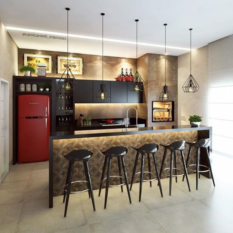 Quanto Custa Orçamento de Móveis para área Gourmet de Apartamento no Bosque Maia Guarulhos - Móveis para Apartamento Pequeno