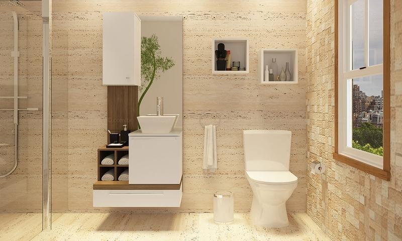 Quanto Custa Orçamento de Móveis para Banheiro de Apartamento no Jaçanã - Móveis para Apartamento Compacto