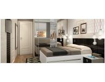 dormitório planejado de casal em Perdizes