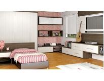 dormitório planejado de solteiro no Jardim Tranquilidade