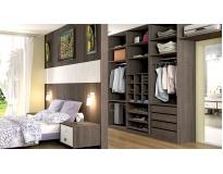 móveis modulados para closet em Jandira