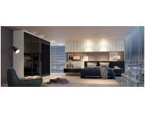 móveis modulados para quarto casal preço na Vila Barros