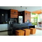 móveis para área gourmet de apartamento