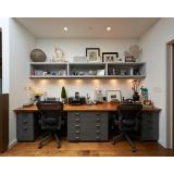 móveis para escritório em apartamento no Jardim Helian