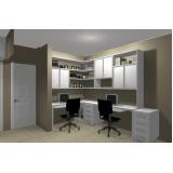 móveis planejados para escritório residencial em Alphaville