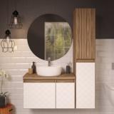 móvel para banheiro de apartamento em São João