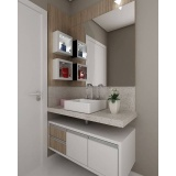 móvel planejados para apartamentos bem pequenos no Alto de Pinheiros