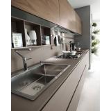 móvel planejados para cozinha de apartamento na Vila Gustavo