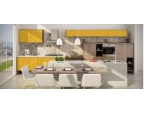 onde encontrar móveis sob medida para cozinha Condomínio Veigas