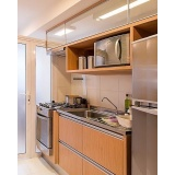 orçamento de móveis para apartamento pequeno no Bosque Maia