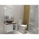 orçamento de móveis para banheiro de apartamento em São Caetano do Sul