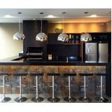 preço quanto custa orçamento de móveis para área gourmet de apartamento no Itaim