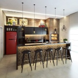 quanto custa orçamento de móveis para área gourmet de apartamento no Bosque Maia Guarulhos